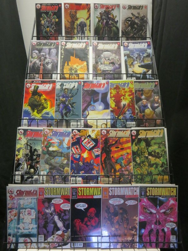 STORMWATCH TEAM ACHILLES (2002 WS) 1-23 COMPLETE SERIES COMICS BOOK
