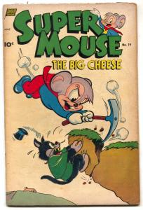 Supermouse #19 1952- Golden Age Funny Animal comic G