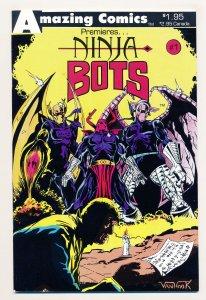 Amazing Comics Premieres (1987) #1 VF Ninja Bots