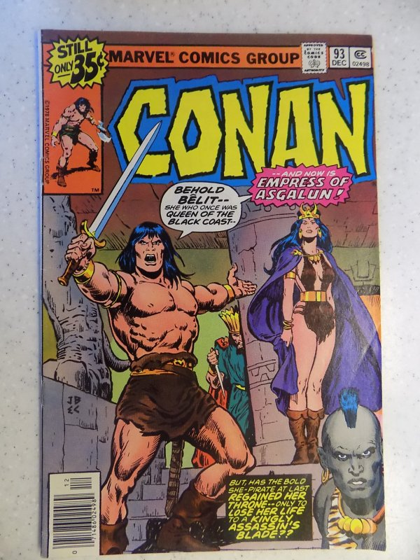 CONAN THE BARBARIAN # 93