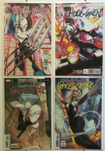 Spider Gwen 4 Book Lot 20 27 Ghost Spider 1 + Artgerm Variant