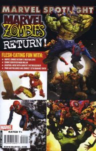 Marvel Spotlight: Marvel Zombies Return #1 VG; Marvel | low grade comic - save o