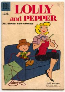 Four Color Comics #978 1959- Lolly and Pepper G/VG