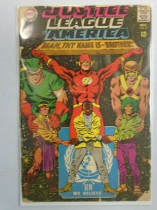 Justice League of America #57 2.0 GD cover detached (1967 1st Series)