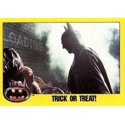 1989 Batman The Movie Series 2 Topps TRICK OR TREAT! #186