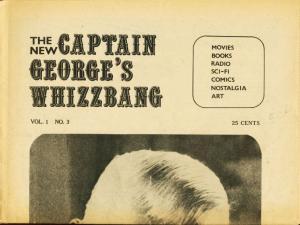CAPTAIN GEORGES WHIZBANG #3-BORIS KARLOFF/B WESTERNS VG