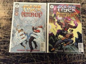 King Tiger Motorhead Complete Dark Horse Comics Limited Series # 1 2 U1