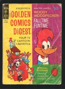 Golden Comics Digest #20 1971-Woody Woodpecker-Andy Panda-Space Mouse-Comics-...