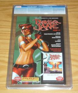 Painkiller Jane #1 CGC 9.0 red foil edition with COA (limited to 199) quesada