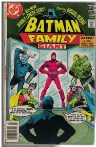 BATMAN FAMILY 16 VG Mar. 1978