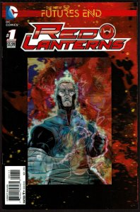 Futures End Red Lanterns 3-D Cover (2014, DC) 9.4 NM