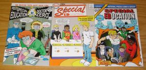 Special Education #1-3 VF/NM complete series - national press comics set lot 2