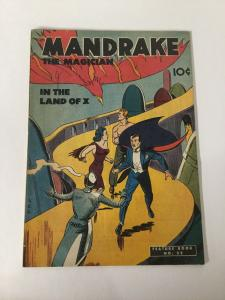 Feature Book 52 Mandrake The Magician Fn- Fine- 5.5 King Features