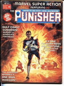 MARVEL SUPER ACTION #1 1976-Dominic Fortune-1st HUNTRESS-MOCKINGBIRD-PUNISHER