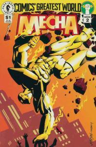 Comics' Greatest World—Golden City #2 VF/NM; Dark Horse | save on shipping - det