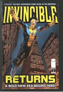INVINCIBLE RETURNS 1 VF/NM ON SALE!! 1st THRAGG;ON AMAZON