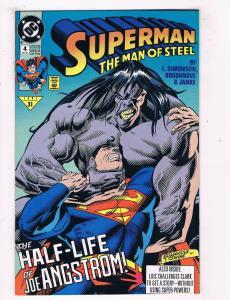 Superman: The Man Of Steel #4 VF/NM DC Comics Comic Book Simonson 1991 DE43 TW14
