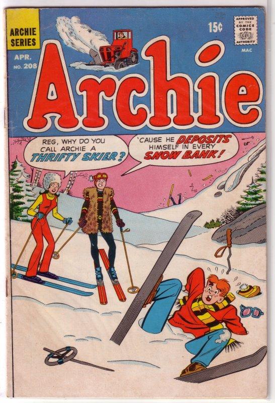 Archie   vol. 1   #208 VG