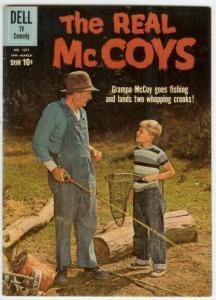 REAL MCCOYS (1960-1962 DELL TV) F.C.1071 VG TOTH; Walte COMICS BOOK