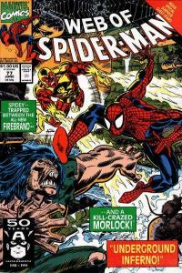 Web of Spider-Man (1985 series) #77, NM (Stock photo)