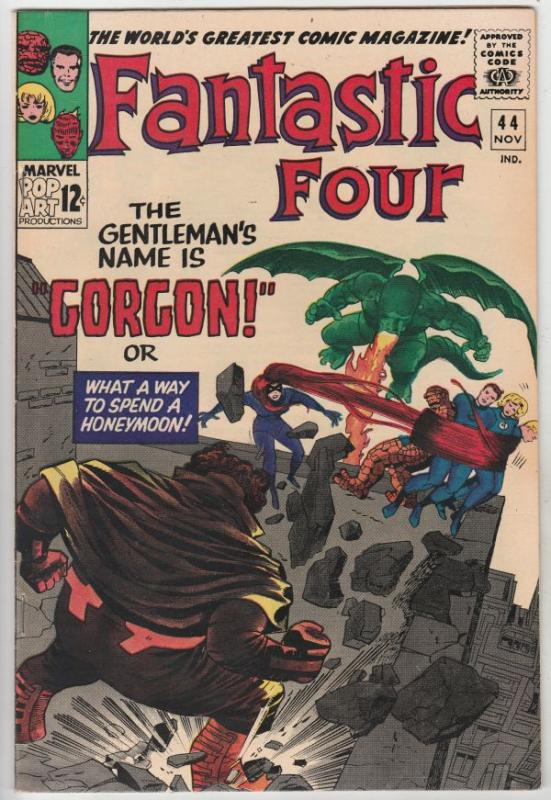 Fantastic Four #44 (Nov-65) NM- High-Grade Fantastic Four, Mr. Fantastic (Ree...