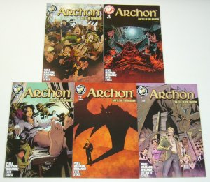 Archon: Battle of the Dragon #1-5 VF/NM complete series - las vegas fantasy set