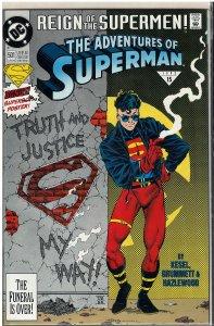 Adventures of Superman #501B (DC, 1993)