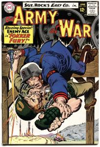 OUR ARMY AT WAR #155 1965-DC WAR COMIC-SGT. ROCK-HIGH GRADE-ENEMY ACE