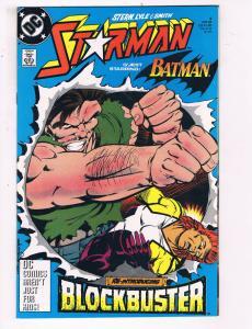 Starman #9 VF DC Comics Comic Book Stern Batman 1989 DE23
