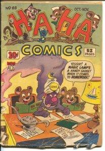 Ha Ha #68 1949-ACG-Genie cover-Ken Hultgren story art-G