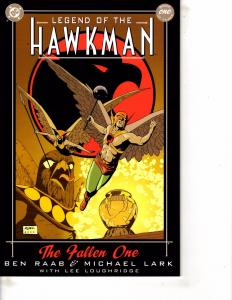Lot Of 2 Comic Books DC Legend of Hawkman #1 and Marvel Previews #1 MS17