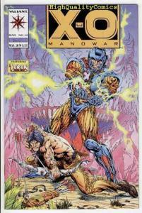X-O MANOWAR #14, NM+, Bart Sears, Dinosaur, Turok, more Valiant in store