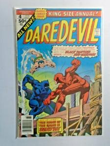 Daredevil #4 A 1st Series Annual  4.0 VG (1976)