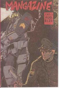 MANGAZINE (AN) 1 (1ST PRINT; 8/85) VF COMICS BOOK