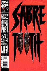 Sabretooth (1993 series) #1, NM (Stock photo)