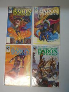 Adventures of Baron Munchausen set #1-4 8.0 VF (1989)