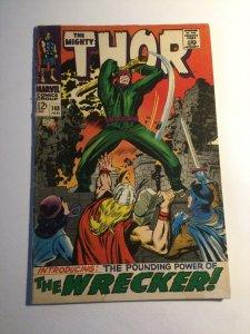 Thor 148 Very good vg 4.0 water damage Marvel