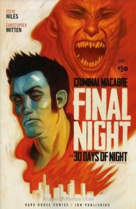 Criminal Macabre: Final Night—The 30 Days of Night Crossover #1 VF/NM; Dark Hors