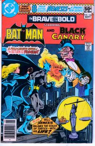 Brave and The Bold#166 1st app.of Suicide Squad's Nemesis! Black Canary!Penguin!