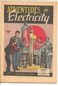 Adventures in Electronics #6 1959-General Electric-Thomas Edison-16 pages-FN-