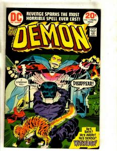 The Demon # 14 VF DC Comic Book Jack Kirby Bronze Age Etrigan Fourth World RS1