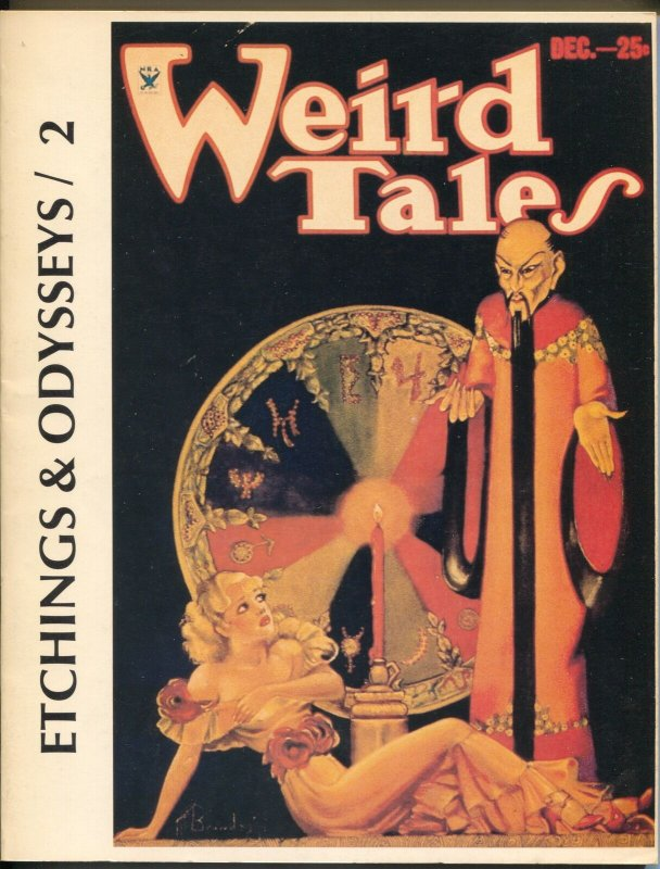 Etchings & Odysseys #2 1983-Strange Co.-Weird Tales-Brundage-#25 of 500-VF