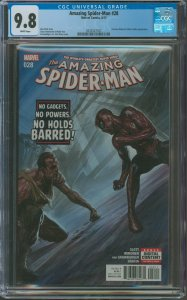 Amazing Spider-Man #26 CGC Graded 9.8 Norman Osborn, Silver Sable & Superior ...