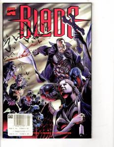 7 Marvel Comics Blade Avengers 1/2 Bill & Ted 5 Cyclops 1 Blackwulf 1 Amazon GM5