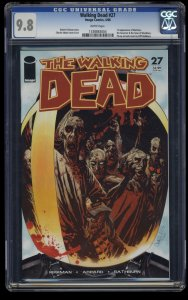 Walking Dead #27 CGC NM/M 9.8 White Pages 1st Governor!