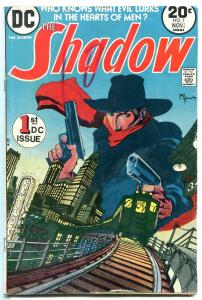 The Shadow #1 1973- DC Comics- Pulp Hero Kaluta VG