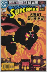 Superman   vol. 2   #172 FN (Our Worlds at War)