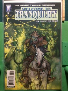 Welcome to Tranquility #4 vol 2 One Foot in the Grave