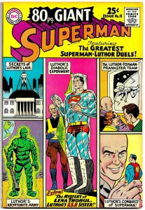 80 Page Giant #11(June'65) 8.5 VF+ • 7 Stories of Superman vs. Lex Luthor!