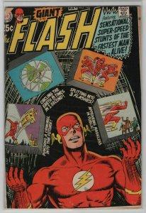 Bronze Age Flash Comics #196 Square bound edition 1970